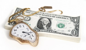 Pictures of Money - Money bends time